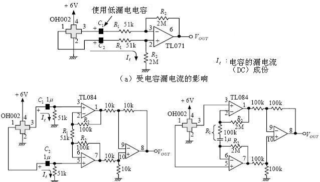 霍尔元件非接触型电流传感器测量电路
